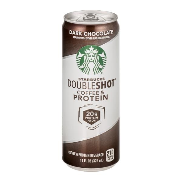 Starbucks Double Shot Coffee Protein Dark Chocolate Dining